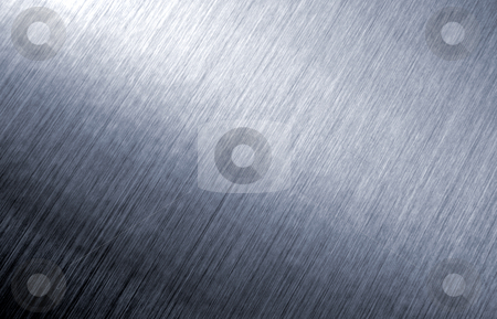 Brushed metal abstract background. stock photo, Brushed metal abstract background. by Stephen Rees
