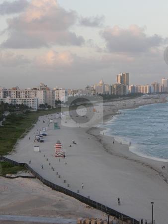 Miami Beach stock photo, Miami Beach in Florida (USA) by Ritu Jethani