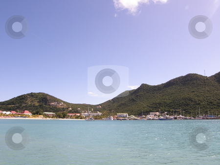 St Maarten in the Caribbean stock photo,  by Ritu Jethani