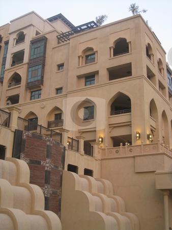 Arabian Architecture stock photo, Arabian Architecture (Souk Al Bahar in Dubai, United Arab Emirates) by Ritu Jethani