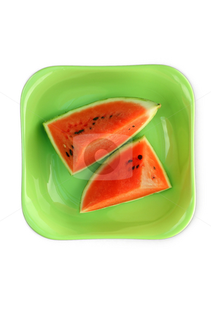 Water melon stock photo, Icecold Water melon ready to be served by Gyozo Toth