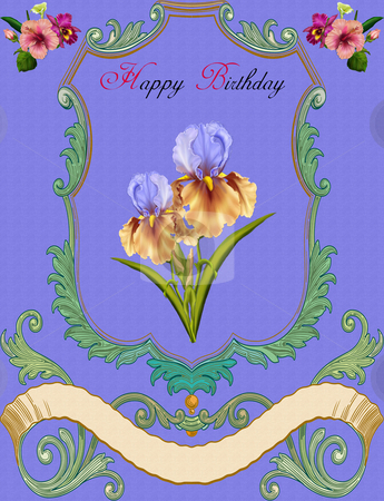Greeting Card-Birthday stock photo,  by Andreas Meyer