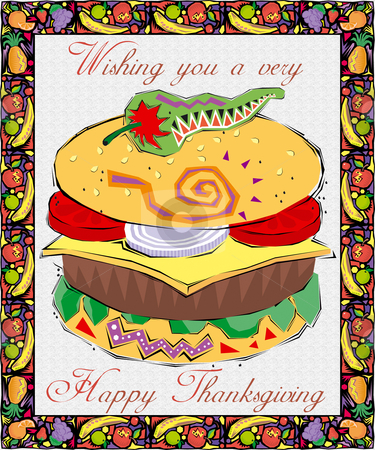 Greeting Card-Thanksgiving stock photo,  by Andreas Meyer