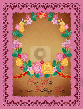 Greeting Card - Wedding stock photo,  by Andreas Meyer