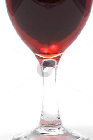 Red Wine stock photo, A large glass of delicious red wine. by Robert Byron