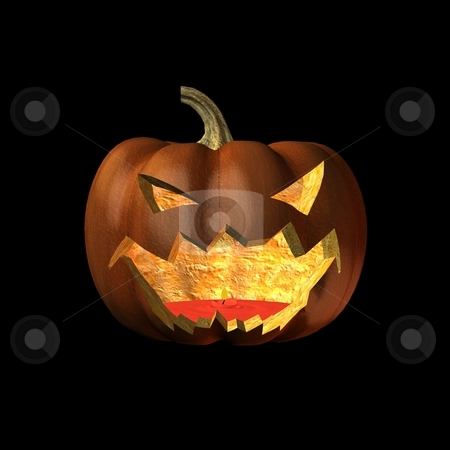 Jack-O-Lantern stock photo,  by Andreas Meyer