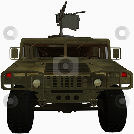 Hummer stock photo, 3D Render of an Hummer by Andreas Meyer