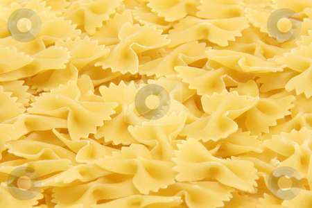 Farfale pasta background stock photo, Farfale pasta closeup for background food concepts by EVANGELOS THOMAIDIS