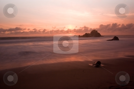 Big Sur Beach stock photo, Pfeiffer Beach SP in Big Sur, California by Mariusz Jurgielewicz