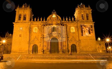 Plaza De Armas stock photo, Main square in Cusco, a city in southeastern Peru, near the Urubamba Valley (Sacred Valley) of the Andes mountain range. by Mariusz Jurgielewicz
