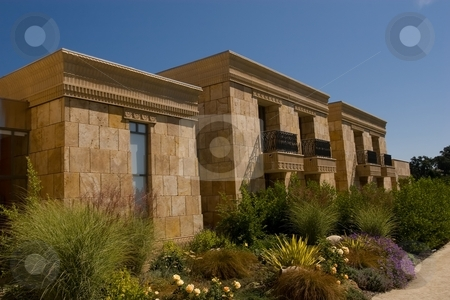 Napa winery stock photo, Persian style buuilding in Napa  winery, California by Mariusz Jurgielewicz