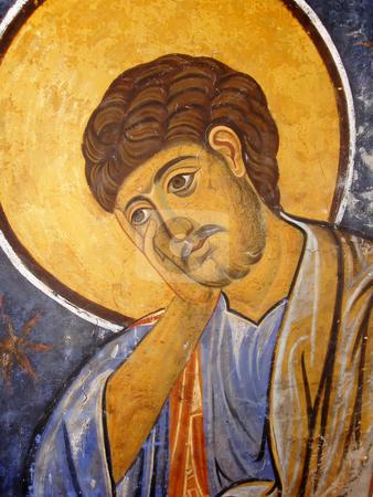 St. Thomas Icon stock photo, St. Thomas Icon In Easter Orthodox Christian Style by Denis Radovanovic