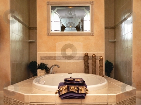Residential Interior stock photo, Interior of home residence by Perry Correll