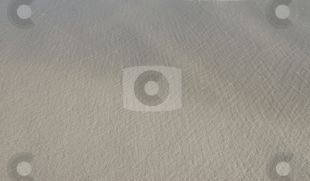 White Sand Background stock photo, Background of smooth white beach sand by A Cotton Photo