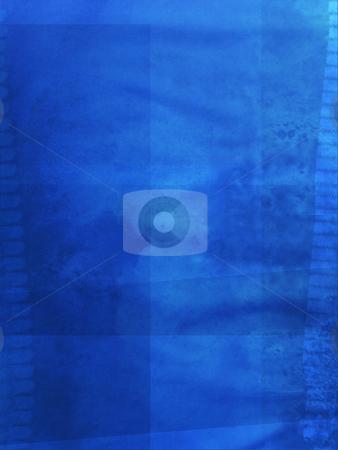 Blue, grunge background stock photo, Deep blue grunge background for winter design. by Juliet Photography