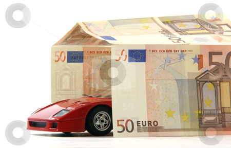 Euro parking stock photo, Euro parking business finance cars expensive car and parking cost of living by EVANGELOS THOMAIDIS