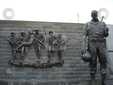 Korean War Memorial in Atlantic City, New Jersey stock photo,  by Ritu Jethani