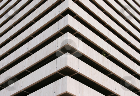 Architechture corner horiz stock photo, Architecture corner horizontal detail from a modern building for background use by EVANGELOS THOMAIDIS