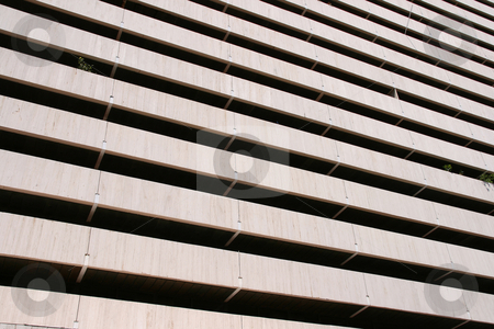 Perspective building lines stock photo, Perspective lines detail from a modern building for background use by EVANGELOS THOMAIDIS