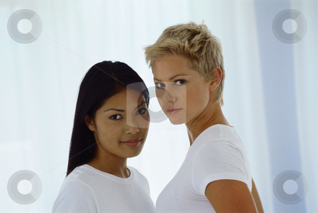 MPIXIS560060 stock photo, Portrait of two women by Mpixis World