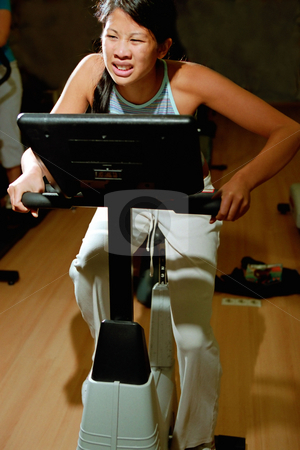 MPIXIS564053 stock photo, Struggling at the gym by Mpixis World