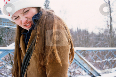 MPIXIS580003 stock photo, Girl making a silly face by Mpixis World