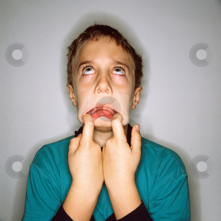 MPIXIS550747 stock photo, Boy making faces by Mpixis World