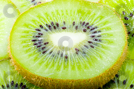 Sliced Kiwi stock photo, Sliced kiwi - healthy eating - vegetables - close up by Petr Koudelka