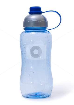 Plastic bottle stock photo, Empty plastic bottle isolated on white background by Adrian Costea