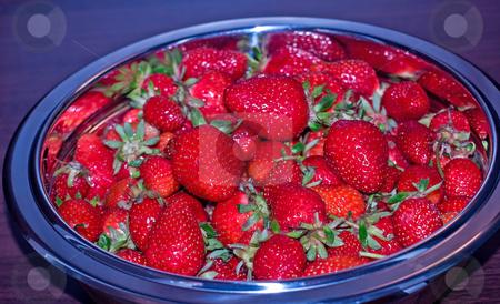 Strawberries stock photo,  by Sinisa Botas