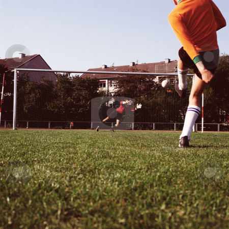 MPIXIS570040 stock photo, Shooting at goal by Mpixis World