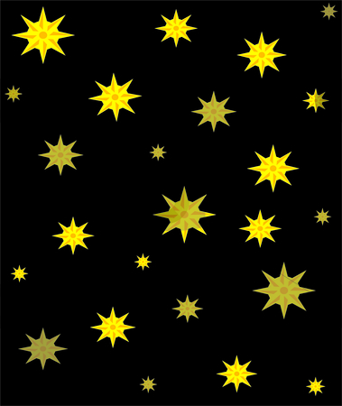 Stars in sky  background stock photo, Christmas holiday vector background by Michelle Bergkamp