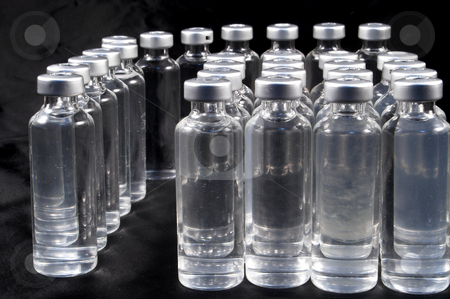 Medicine Vials stock photo, A collection of prescription medicine vials. by Robert Byron