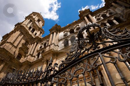 Malaga Cathedral stock photo, Malaga Cathedral, Andalusia, Spain by Vitaly Sokolovskiy
