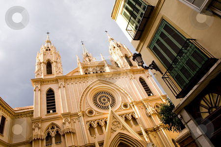Church of San Ignacio stock photo, Church of San Ignacio in Malaga, Andalusia, Spain by Vitaly Sokolovskiy