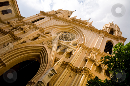 Church of San Ignacio stock photo, Church of San Ignacio in Malaga, Spain by Vitaly Sokolovskiy