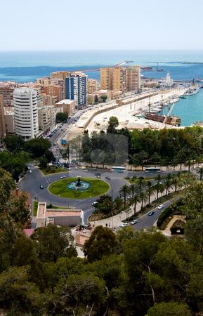 View To Malaga stock photo, View To Malaga, Andalusia, Spain by Vitaly Sokolovskiy