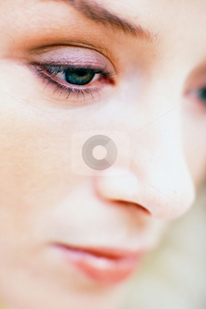 MPIXIS560016 stock photo, Face of young woman by Mpixis World