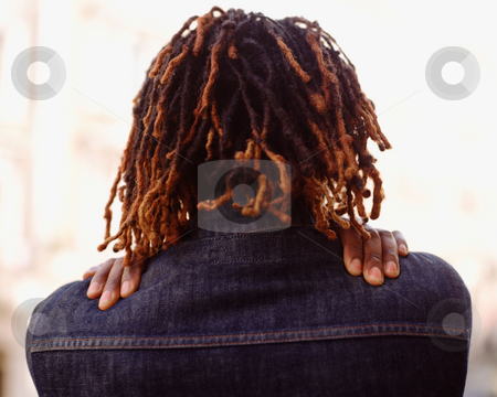 MPIXIS550092 stock photo, Person with hands on the shoulders by Mpixis World