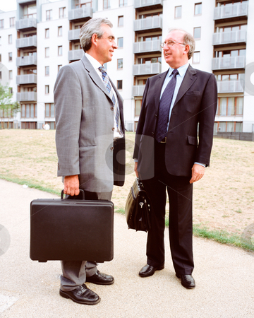 MPIXIS551017 stock photo, Businessmen with briefcases by Mpixis World
