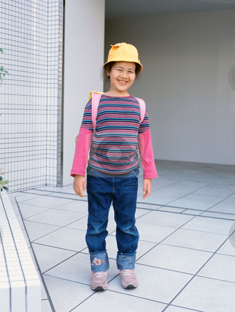 MPIXIS550656 stock photo, Portrait of a smiling girl by Mpixis World