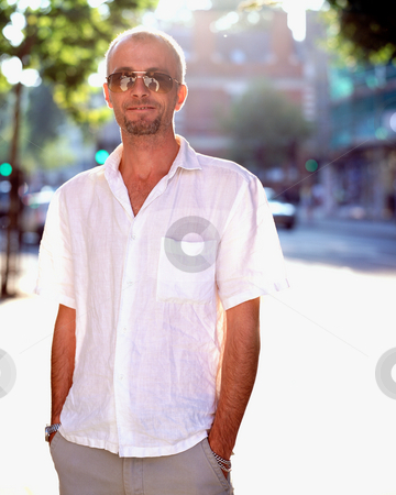 MPIXIS551039 stock photo, Young man in summer clothes by Mpixis World