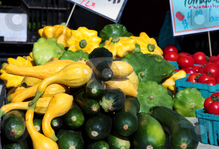 Street Market Vegetables stock photo, Vegetables in a street Market. by Steve Stedman