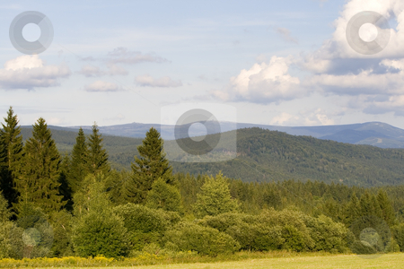 Mountains stock photo, Mountain landscape in summer - Loc: 50 by Petr Koudelka