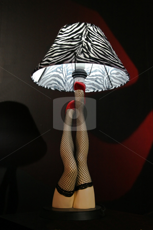Sexy woman lightpole  lamp stock photo, Sexy woman lamp by John Tsilidis