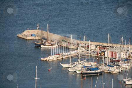 Microlimano bay stock photo, A view of microlimano bay at piraeus athens greece by EVANGELOS THOMAIDIS