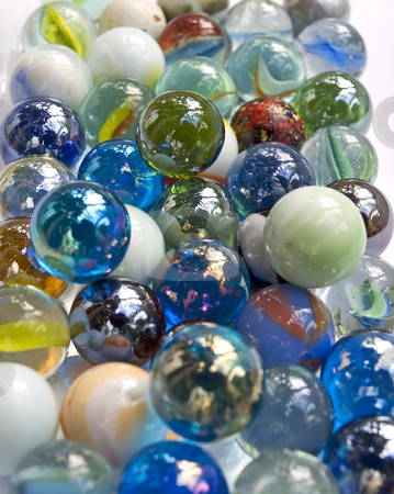 Marbles stock photo,  by Sinisa Botas