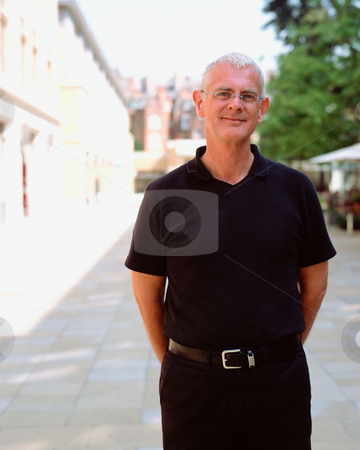 MPIXIS551077 stock photo, Casual middle-aged man by Mpixis World