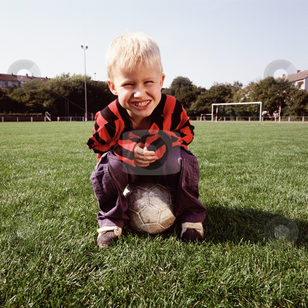 MPIXIS570042 stock photo, Young footballer by Mpixis World