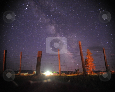 Milky-way in Glenwood  stock photo,  by Juro Smollin
